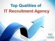 Top Qualities of IT Recruitment Agency - Nspire