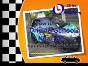 How to find a driving school near me? Facts to ponder on!