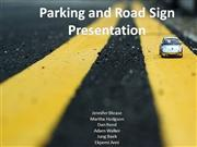 Parking and Road Sign Presentation