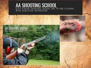Clay pigeon shooting school from Dorset, UK | AA Shooting School