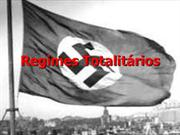 REGIMES TOTALITARIOS