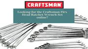Craftsman Flex Head Ratchet Wrench Set