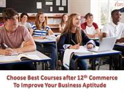 Choose Best Courses after 12th commerce