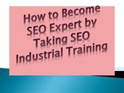 How to Become SEO Expert by Taking SEO Industrial Training
