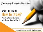 Learn to draw pencil sketches