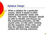 Week 4a Syllabus