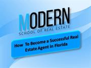 How  to Become a Successful Real Estate agent in Florida
