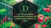 Use These Garden Accessories To Make Your Garden Look Angelic In 2018