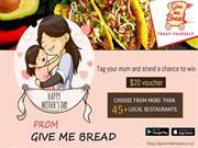 Mothers Day Give A Break To Your Moms From Cooking & Order Food Online
