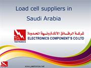 Load cell suppliers Saudi Arabia