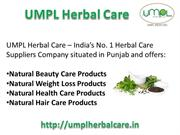UMPL Herbal Care – India's No.1 Herbal Care Products Online