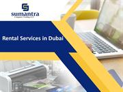 Rental Services in Dubai