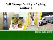 Self Storage Facility in Sydney, Australia