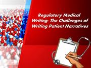 Regulatory Medical Writing