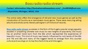 Boss radio radio stream