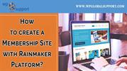 How to create a Membership Site with Rainmaker Platform_