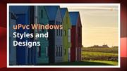 upvc windows styles and designs