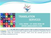 Top Medical Translation Service Provider In Delhi Ncr & India