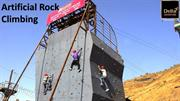 Artificial Rock Climbing at Della Adventure