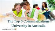The Top 5 Communications University in Australia