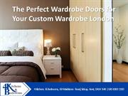 The Perfect Wardrobe Doors for Your Custom Wardrobe London