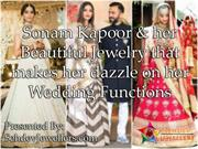 Sonam Kapoor and her beautiful gemstone jewelry that makes her dazzle