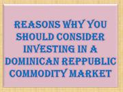 Reasons Why You Should Consider Investing in a Dominican Reppublic Com