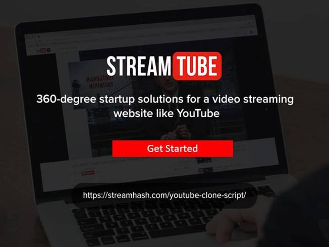 Streamtube - Youtube Clone Script - Software Presentation