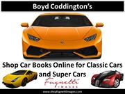 Shop Car Books Online for Classic Cars and Supercars Cars