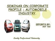 automobile industry