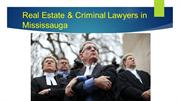Real Estate Lawyers in Mississauga