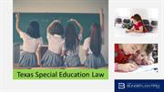 Texas Special Education Law