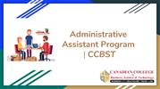 Administrative Assistant Program - CCBST