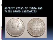 Ancient Coins of India and Their Broad Categories