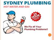 Fix all your plumbing problems - Sydney Plumbing Hot Water & Gas