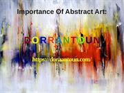 Importance Of Abstract Art