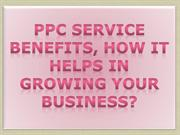 PPC Service Benefits how it helps in growing your Business