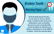 Broken Tooth Treatments & Prevention