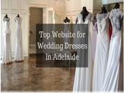 Top Website for Wedding Dresses in Adelaide
