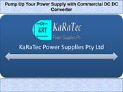 Pump Up Your Power Supply with Commercial DC