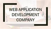 Web Application Development Company | Web App Development Services