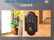 Home and industrial security tips- Qilocks