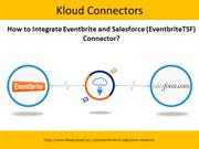 How to Integrate Eventbrite and Salesforce Connector