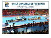 EVENT MANAGEMENT FOR COACH FUTSAL