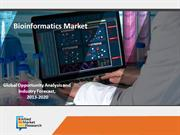 Bioinformatics Market : Transform the Face of Healthcare Industry