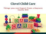 4 Things you can Expect from a Daycare Castle Hill