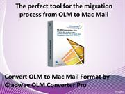 OLM to Mac Mail Converter for Mac
