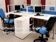 Different Methods To Modernize Your Cubicle Installation