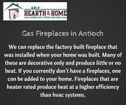 Gas Fireplaces in Antioch