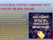 Buy Coffee beans online at very reasonable price